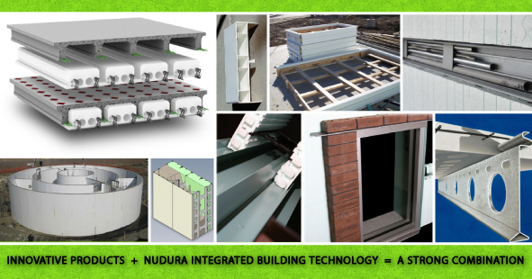 Innovative Products used with NUDURA Insulated Concrete Forms